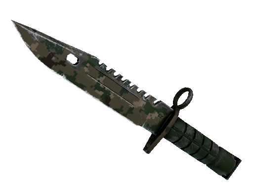 ★ M9 Bayonet | Forest DDPAT (Well-Worn)