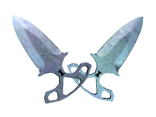 ★ Shadow Daggers | Blue Steel (Factory New)