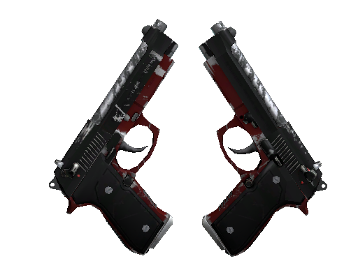 StatTrak™ Dual Berettas | Panther (Field-Tested)