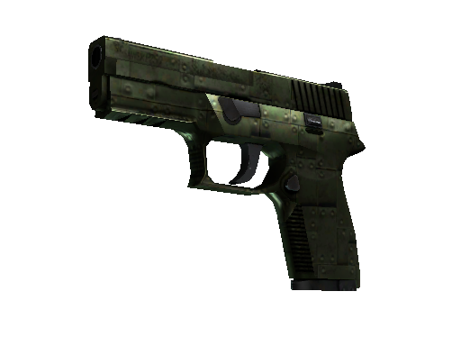 StatTrak™ P250 | Iron Clad (Well-Worn)