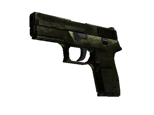 StatTrak™ P250 | Iron Clad (Battle-Scarred)
