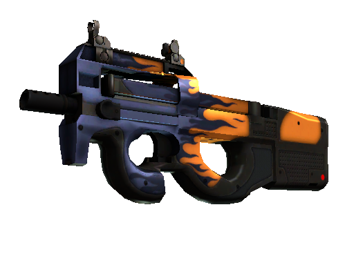 StatTrak™ P90 | Chopper (Minimal Wear)