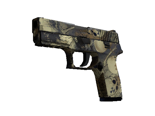Souvenir P250 | Contamination (Field-Tested)