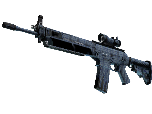 SG 553 | Waves Perforated (Well-Worn)
