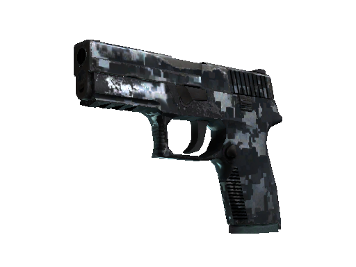 StatTrak™ P250 | Steel Disruption (Field-Tested)