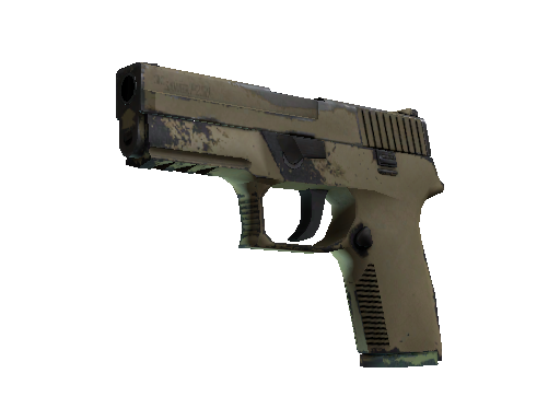 Souvenir P250 | Sand Dune (Well-Worn)