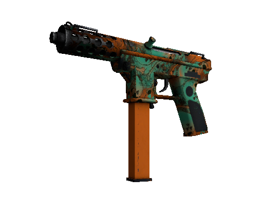 Tec-9 | Toxic (Well-Worn)