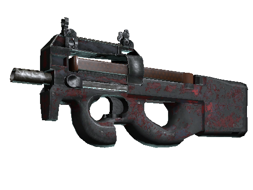 Souvenir P90 | Fallout Warning (Battle-Scarred)