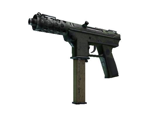 Souvenir Tec-9 | Groundwater (Battle-Scarred)