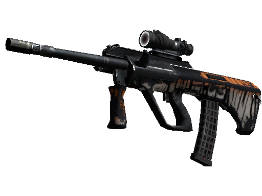 StatTrak™ AUG | Bengal Tiger (Battle-Scarred)