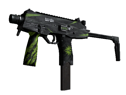 StatTrak™ MP9 | Deadly Poison (Battle-Scarred)