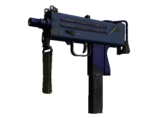MAC-10 | Indigo (Field-Tested)