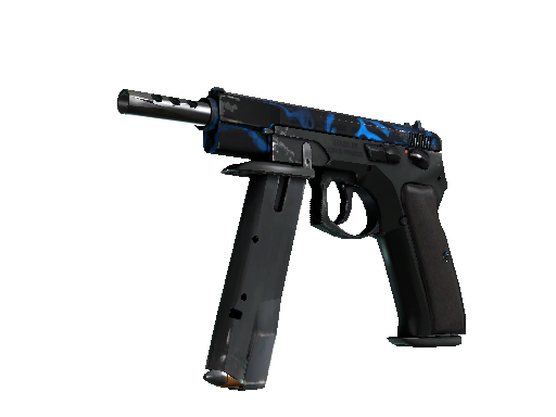 StatTrak™ CZ75-Auto | Poison Dart (Well-Worn)