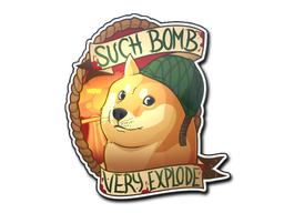 Sticker | Bomb Doge