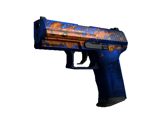 StatTrak™ P2000 | Fire Elemental (Minimal Wear)
