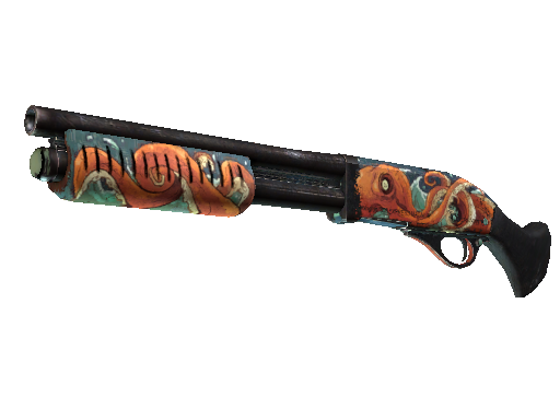 StatTrak™ Sawed-Off | The Kraken (Field-Tested)