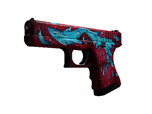 Glock-18 | Water Elemental (Well-Worn)