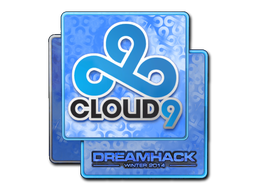 Sticker | Cloud9 (Holo) | DreamHack 2014