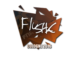 Sticker | flusha | Cologne 2016