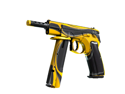 CZ75-Auto | Yellow Jacket (Minimal Wear)