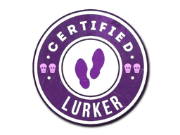Sticker | The Lurker