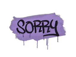 Sealed Graffiti | Sorry (Violent Violet)