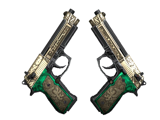 StatTrak™ Dual Berettas | Royal Consorts (Factory New)