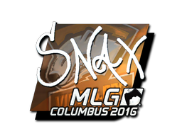 Sticker | Snax (Foil) | MLG Columbus 2016