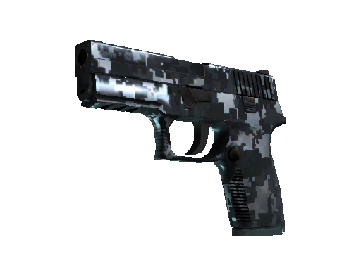 StatTrak™ P250 | Steel Disruption (Minimal Wear)