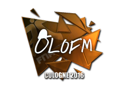 Sticker | olofmeister (Foil) | Cologne 2016