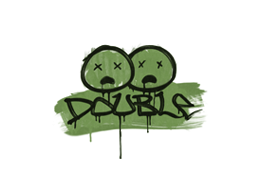 Sealed Graffiti | Double (Battle Green)
