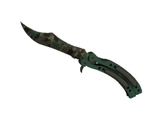 ★ StatTrak™ Butterfly Knife | Boreal Forest (Minimal Wear)