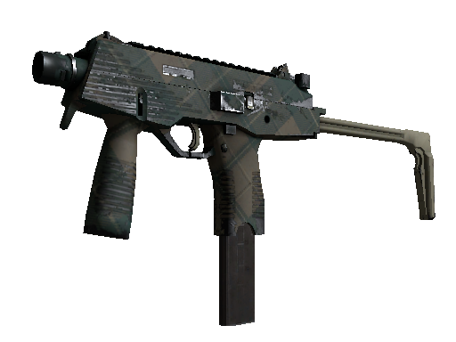 MP9 | Green Plaid (Field-Tested)
