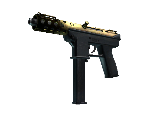 Souvenir Tec-9 | Brass (Well-Worn)