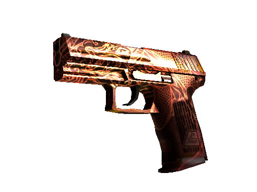 StatTrak™ P2000 | Imperial Dragon (Factory New)