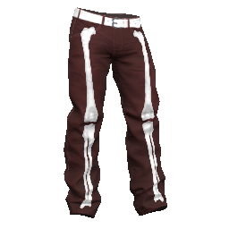 Red Bone Baggy Pants