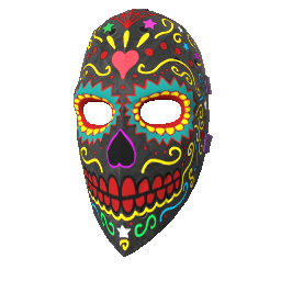 Day of the Dead Hockey Mask
