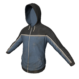 Blue and Black Hoodie