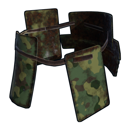 Military Camo Roadsign Kilt