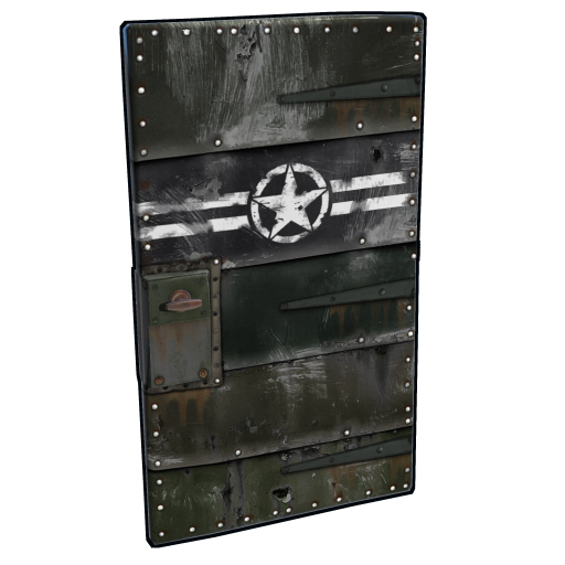 Army Metal Door