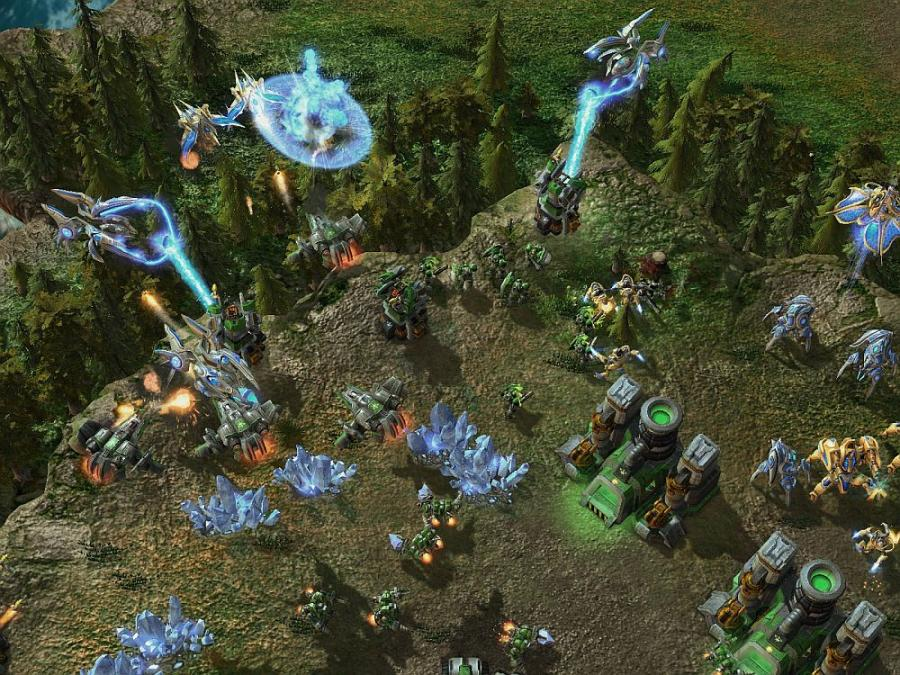 Starcraft 2 - Key Screenshot 1