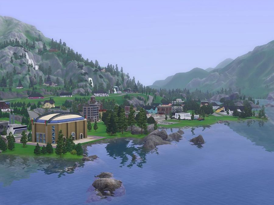 LGR - The Sims 3 Barnacle Bay & Hidden Springs Review ...