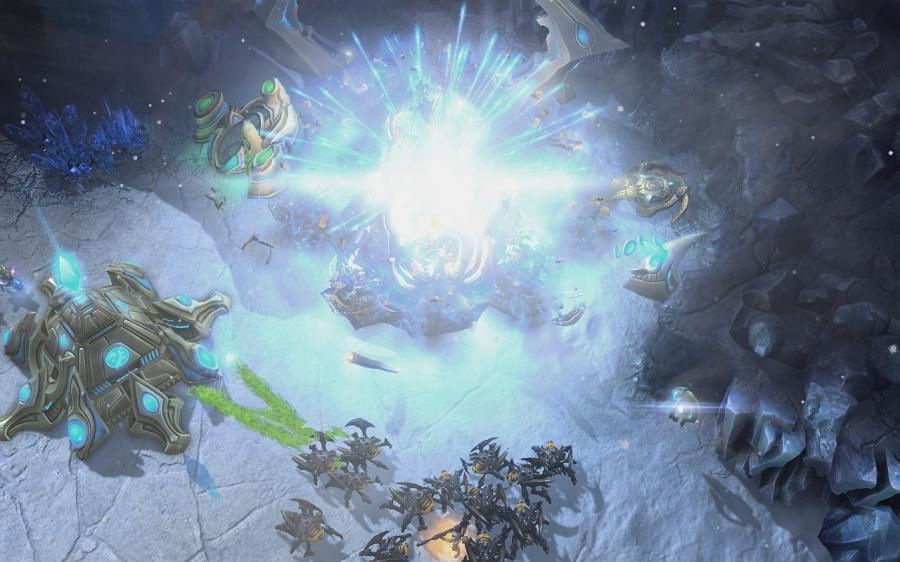 Starcraft 2: Heart of the Swarm (EU) Screenshot 6