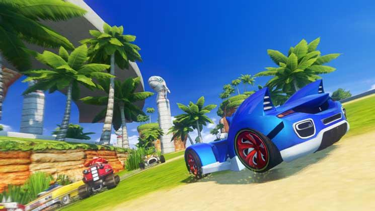 Sonic & SEGA All-Stars Racing Transformed Screenshot 1