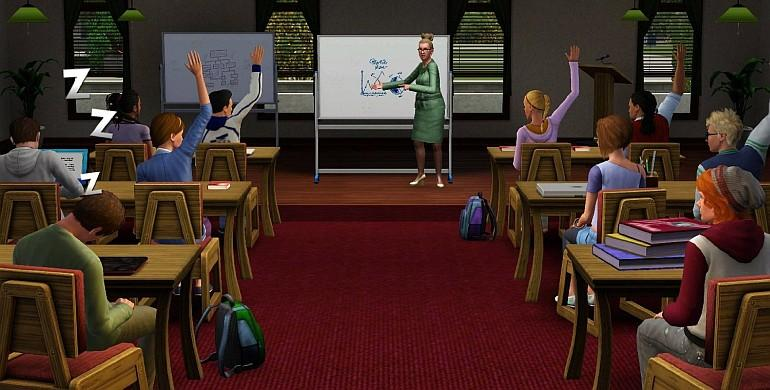 The Sims 3 - University Life (Addon) Screenshot 1