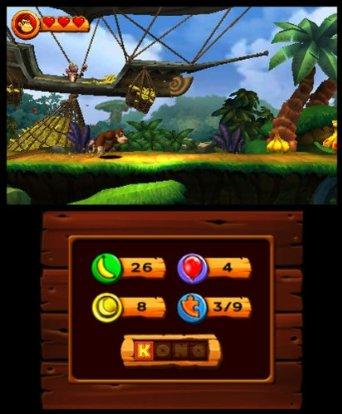 Donkey Kong Country Returns - 3DS Screenshot 5