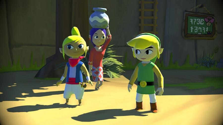 Legend of Zelda: The Wind Waker HD - Wii U Download Code Screenshot 8