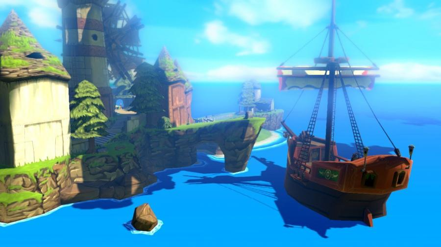 Legend of Zelda: The Wind Waker HD - Wii U Download Code Screenshot 3