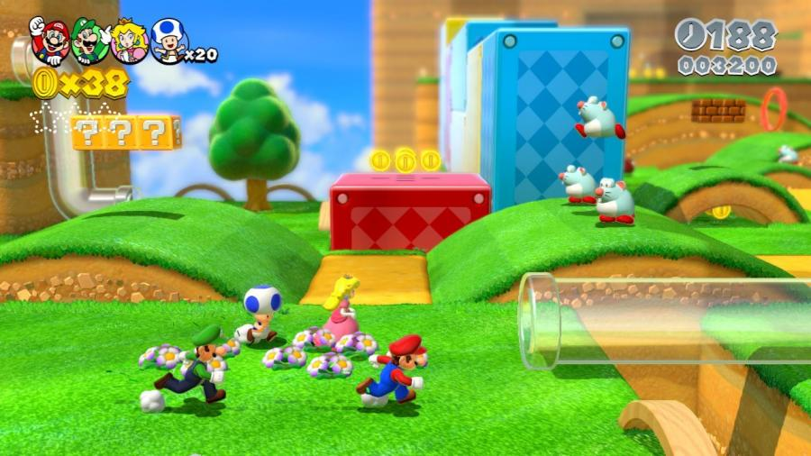 Super Mario 3D World - Wii U Download Code Screenshot 1