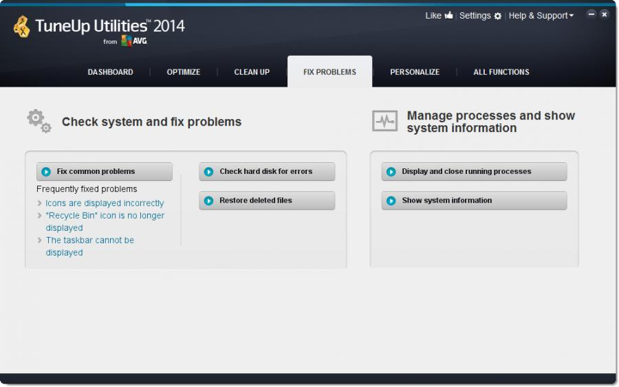 TuneUp Utilities 2014 (3 Users) Screenshot 5